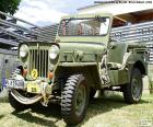 Puzle Jeep Willys MB