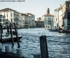 Grand Canal v Benátkách, Itálie