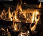 Puzle Oheň