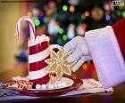 Santa Claus a sladkosti