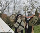 Dva vojáci ze středověku