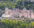Hradu Heidelberg, Německo