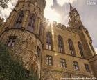 Detail z Hohenzollern hrad, Německo