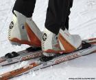 Materiál běžeckého lyžování
