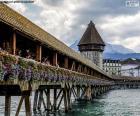 Kapellbrücke, Švýcarsko