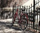 Puzle Červené kolo