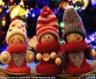 Vánoční panenky
