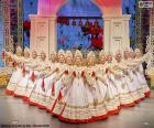 Beriozka, klasický Ruský tanec