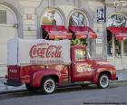 Starý náklaďák Coca-Cola