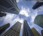 Singapurské mrakodrapy