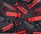 Červené a černé dárky