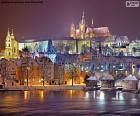 Praha v noci, Česká republika