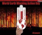 Světový den oteplování Země Akční den