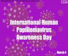 Mezinárodní den povědomí o lidském papilomaviru