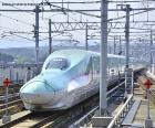 Shinkansen bullet train, Japonsko