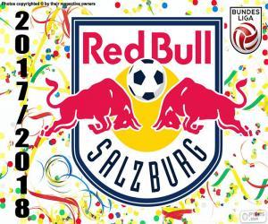 Puzle Red Bull Salzburg, Bundesliga 2017-18