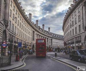 Puzle Regent Street, Londýn