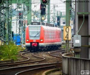 Puzle Regionální vlak