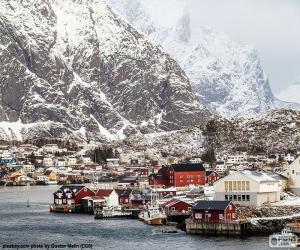 Puzle Reine, Norsko