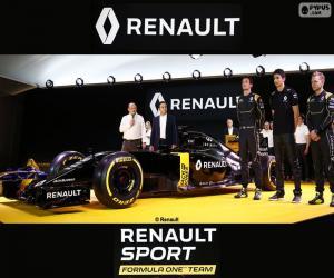 Puzle Renault Sport F1 2016