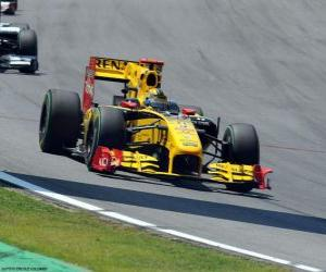 Puzle Robert Kubica - Renault - Interlagos 2010