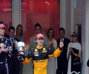Puzle Robert Kubica - Renault - Monte-Carlo 2010 (zařazen 3rd)