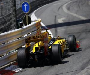 Puzle Robert Kubica - Renault - Monte-Carlo 2010