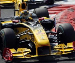 Puzle Robert Kubica - Renault - Monza 2010