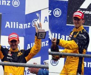 Puzle Robert Kubica - Renault - Spa-Francorchamps, Belgie Grand Prix 2010 (zařazen 3rd)