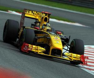 Puzle Robert Kubica - Renault - Spa-Francorchamps 2010