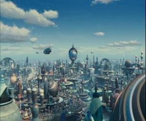 Puzle Robot City