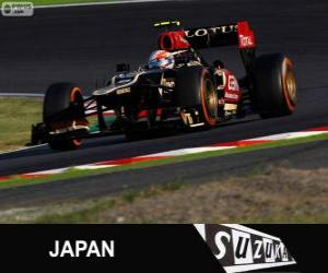 Puzle Romain Grosjean - Lotus - Grand Prix Japonska 2013, 3 klasifikované