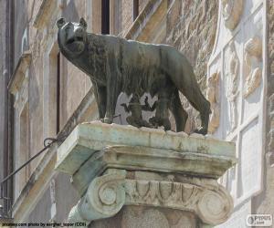 Puzle Romulus a Remus