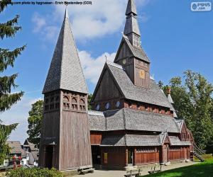 Puzle Roubený kostel, Německo