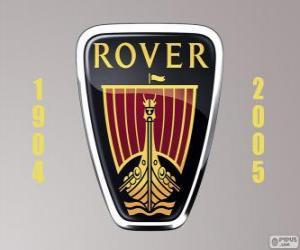 Puzle Rover logo byl výrobce automobilů, Velká Británie