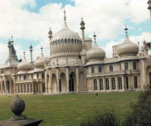 Puzle Royal Pavilion, Anglie