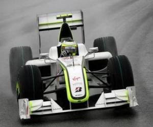 Puzle Rubens Barrichello pilotování svého F1