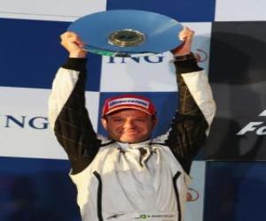 Puzle Rubens Barrichello ve stupních vítězů