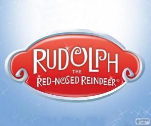 Puzle Rudolf Sob s červeným nosem logo