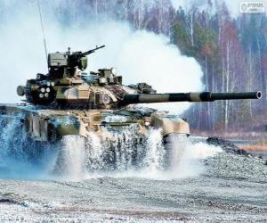Puzle Ruský tank T-90S