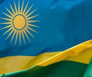 Puzle Rwandská vlajka