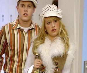 Puzle Ryan Evans (Lucas Grabeel), Sharpay Evans (Ashley Tisdale), jednající