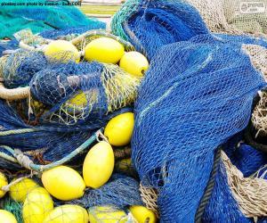 Puzle Rybářská síť