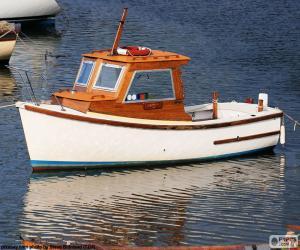 Puzle Rybářský člun