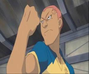 Puzle Ryugo Someoka nebo Kevin Dragonfly, nevrlý útočník v Raimon fotbalového týmu