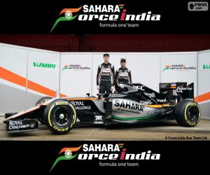 Puzle Sahara Force India F1 2016