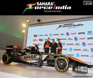 Puzle Sahara Force India F1 team 2015