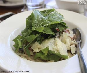 Puzle Saláty se zelenými listy