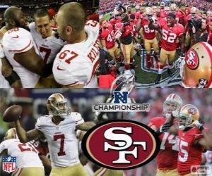 Puzle San Francisco 49ers NFC mistr 2012