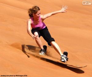 Puzle Sandboarding